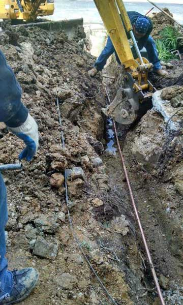 Water Line Replacement Dulles VA
