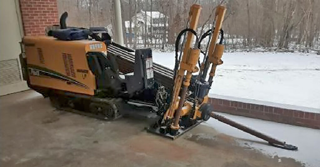 Horizontal Directional Drill For Water Line Repair